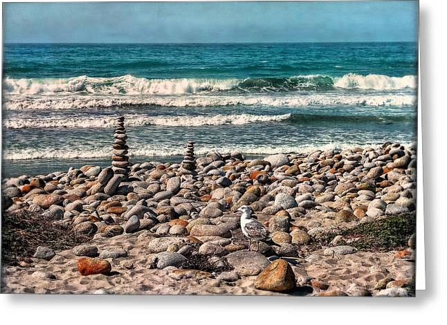 Coast Highway One Greeting Cards - Scenic Point Greeting Card by Hanny Heim