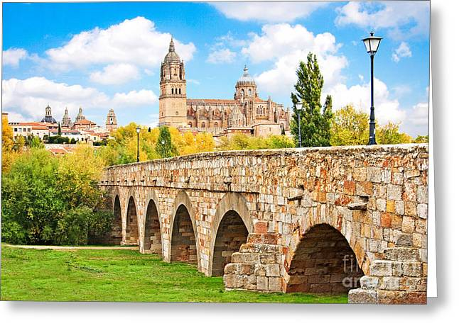 Southern Province Greeting Cards - Scenic Salamanca Greeting Card by JR Photography