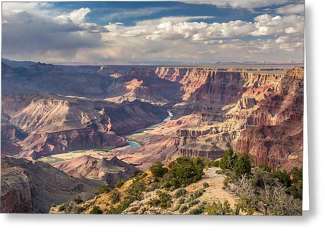 Scenic Splendor Of The Grand Canyon Greeting Card by Pierre Leclerc Photography