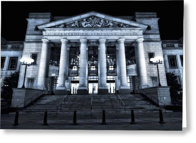Maestro Greeting Cards - Schermerhorn Symphony Center Greeting Card by Dan Sproul