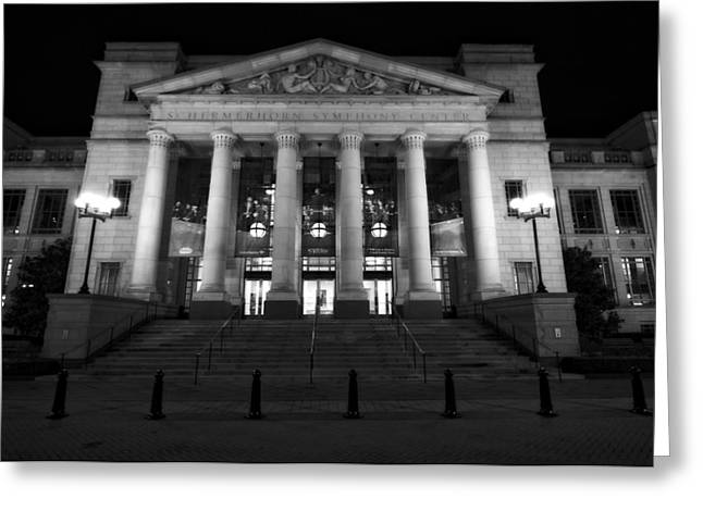 Tennessee Landmark Greeting Cards - Schermerhorn Symphony Center In Nashville Greeting Card by Dan Sproul