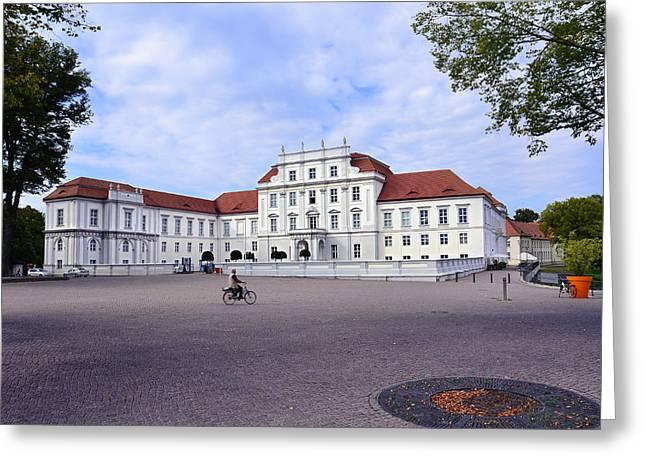 Deutschland Mixed Media Greeting Cards - Schloss Oranienburg / Deutschland Greeting Card by Gynt