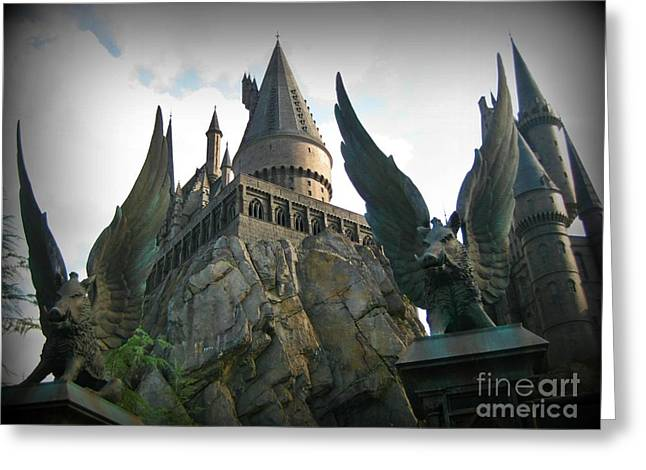 John Malone Artist Greeting Cards - School of Wizardry Greeting Card by John Malone