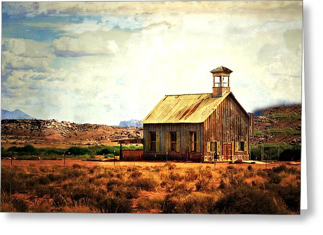 Schoolhouse 1 Greeting Card by Marty Koch