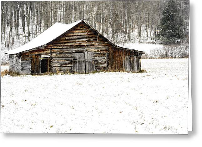 Old School Houses Greeting Cards - Schoolhouse Barn Greeting Card by Thomas R Fletcher