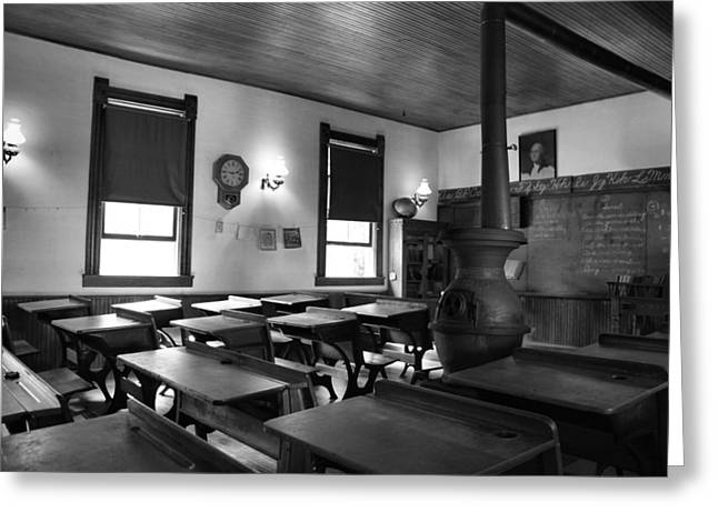 Schoolroom Greeting Cards - Schoolroom Greeting Card by Dan Sproul