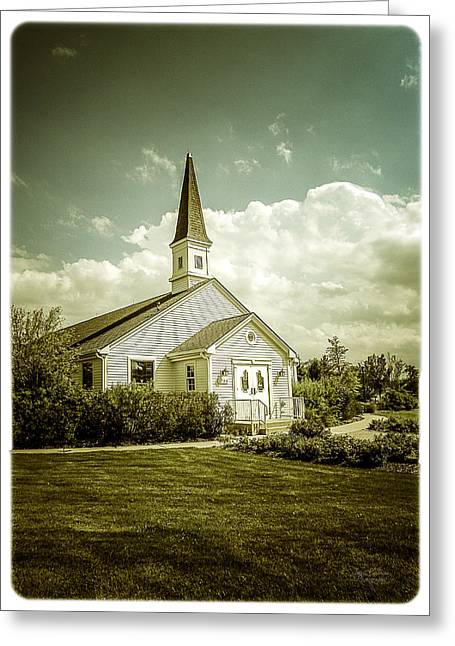 Photo-based Greeting Cards - Schram Memorial Chapel Greeting Card by Julie Palencia