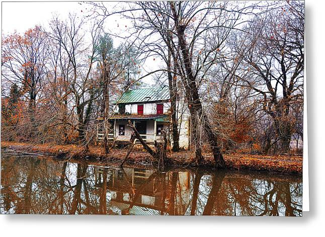 Schuylkill Digital Art Greeting Cards - Schuylkill Canal Port Providence Greeting Card by Bill Cannon