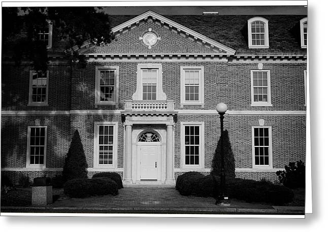 Duke Greeting Cards - Science Building at Duke University Greeting Card by Nomad Art And  Design