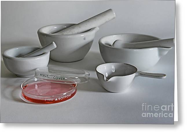 Microbiology Greeting Cards - Science Class Greeting Card by Paul Ward
