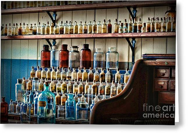 Md Greeting Cards - Science - My Chemistry Set Greeting Card by Paul Ward