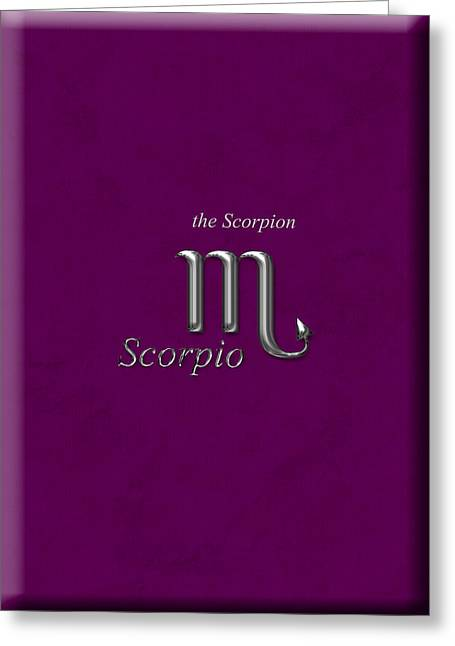 Daysray Photography Greeting Cards - Scorpio Oct 24 to Nov 22 Greeting Card by Fran Riley