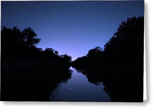 Constellations Greeting Cards - Scorpio rising Greeting Card by Philippe Meisburger
