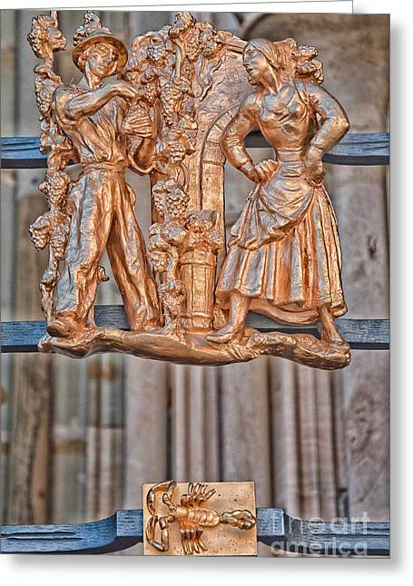 Vitus Greeting Cards - Scorpio Zodiac Sign - St Vitus Cathedral - Prague Greeting Card by Ian Monk
