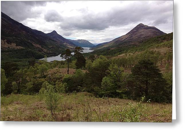 Mountains Sculptures Greeting Cards - Scotland Highlands Greeting Card by Nino Berdzenishvili