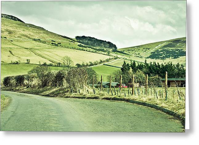 Border Greeting Cards - Scotland Greeting Card by Tom Gowanlock