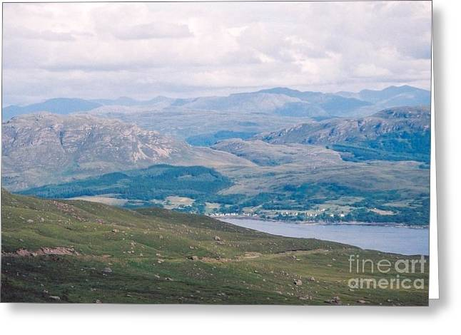 Scotlands Rich Valleys Greeting Card by Nu Art