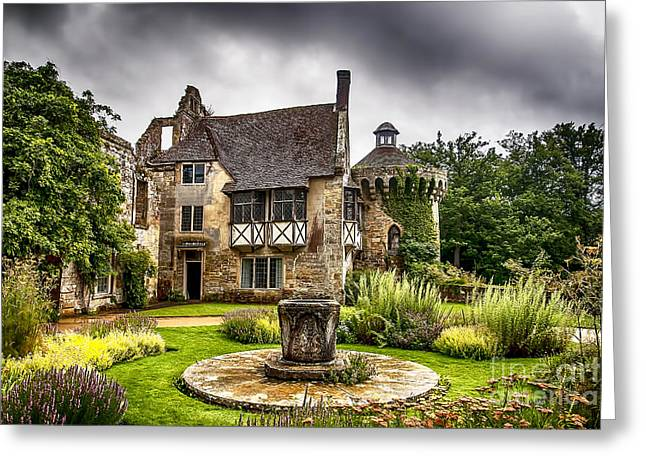 Historic Home Greeting Cards - Scotney Castle 4 Greeting Card by Chris Thaxter