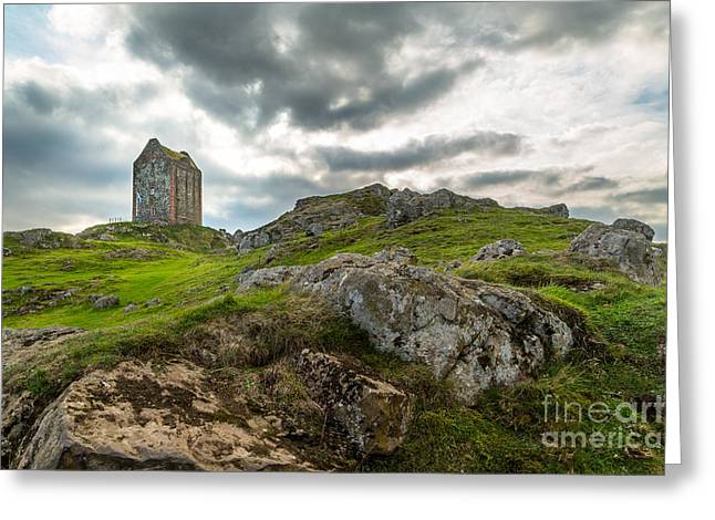 Border Photographs Greeting Cards - Scottish Borders - Smailholm Tower Greeting Card by Matt  Trimble