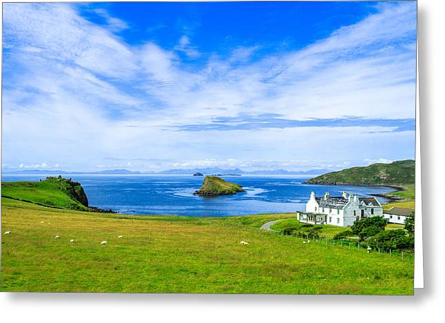 Print Greeting Cards - Scottish Dreams Greeting Card by Yuri Fineart