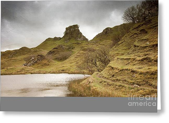 Body Of Water Greeting Cards - Scottish Landscape Greeting Card by Juli Scalzi