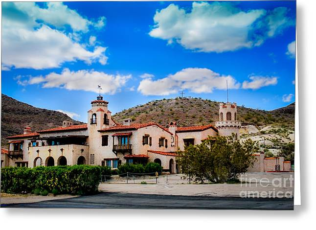 Grapevines Greeting Cards - Scottys Castle Greeting Card by Robert Bales