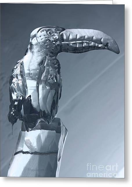 Ice Sculpture Greeting Cards - Sculpted in Ice Greeting Card by Sophie Vigneault