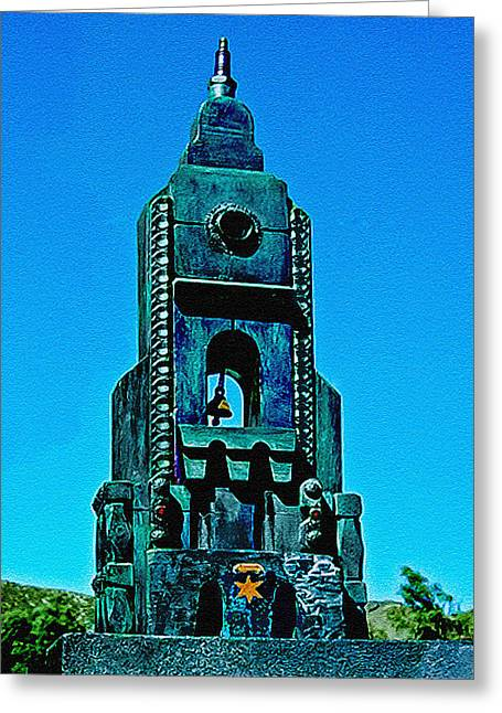 Born Again Photographs Greeting Cards - Sculpture from Found Objects Greeting Card by  Bob and Nadine Johnston