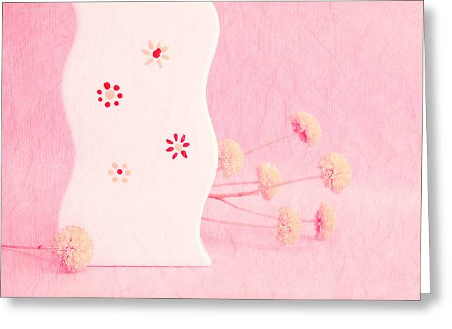 Dried Flower Greeting Cards - Scurves - pst11 Greeting Card by Variance Collections