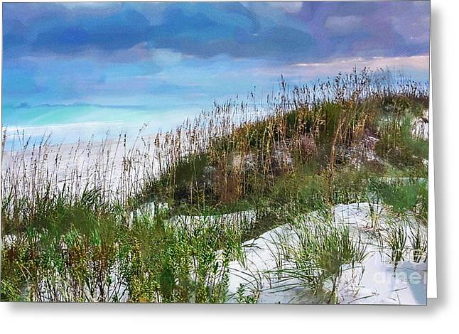 Clouds Photographs Digital Greeting Cards - Sea Air Greeting Card by Betty LaRue