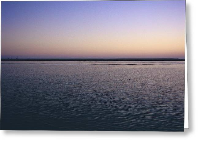 Body Of Water Greeting Cards - Sea Greeting Card by Bernard Jaubert