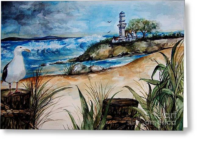 Laneea Tolley Greeting Cards - Sea Breeze Greeting Card by Laneea Tolley