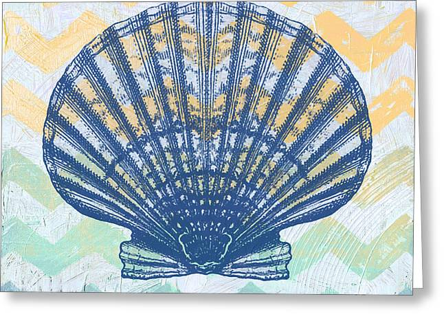 Sea Shell Digital Art Greeting Cards - Sea Shell-B Greeting Card by Jean Plout