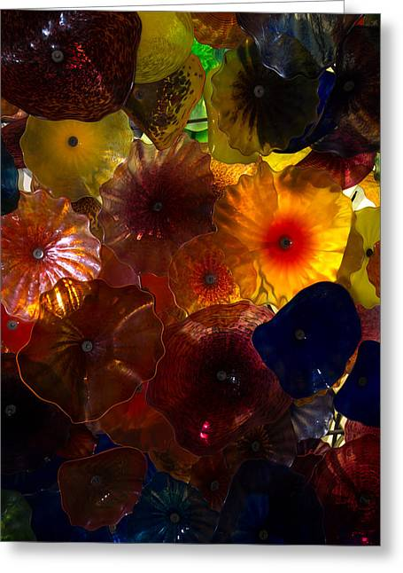 Intricate Shells Greeting Cards - Sea Flowers and Mermaid Gardens Greeting Card by Georgia Mizuleva