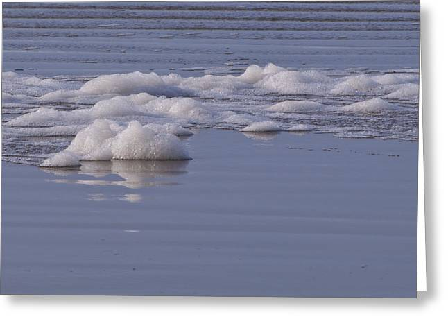 Sea Greeting Cards - Sea Foam Greeting Card by Mandy Judson