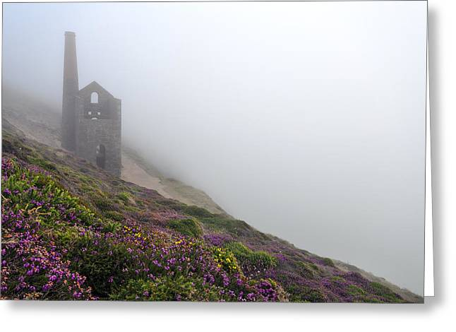 Engine House Greeting Cards - Sea Fog Greeting Card by Helen Hotson