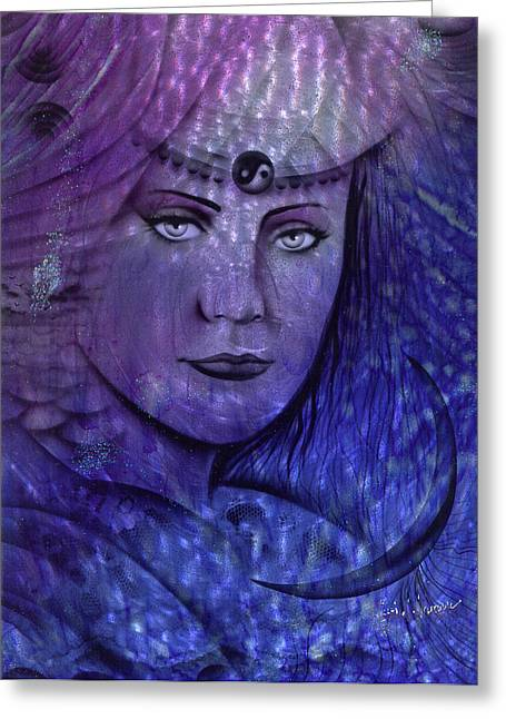 Spirit Guides Greeting Cards - Sea Gypsy Greeting Card by Luis  Navarro