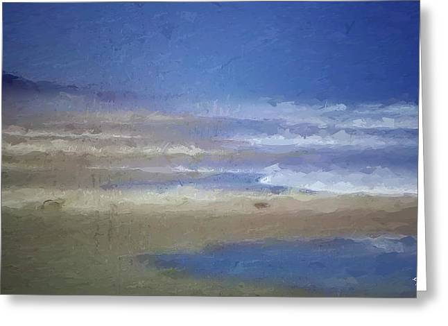 Sea Mist Greeting Card by Anthony Fishburne