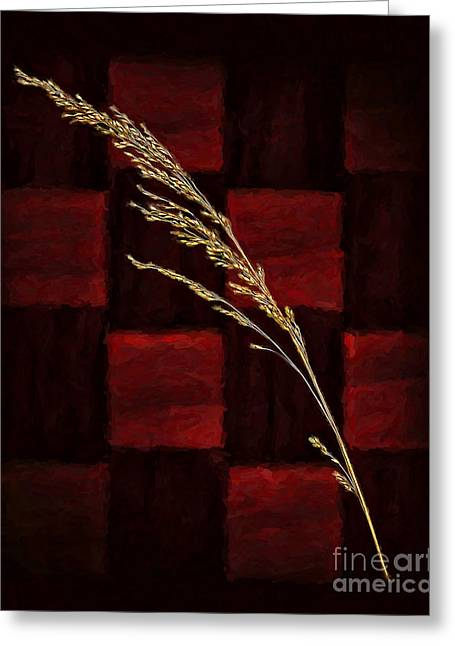 Sea Oats Greeting Cards - Sea Oats Greeting Card by Walt Foegelle