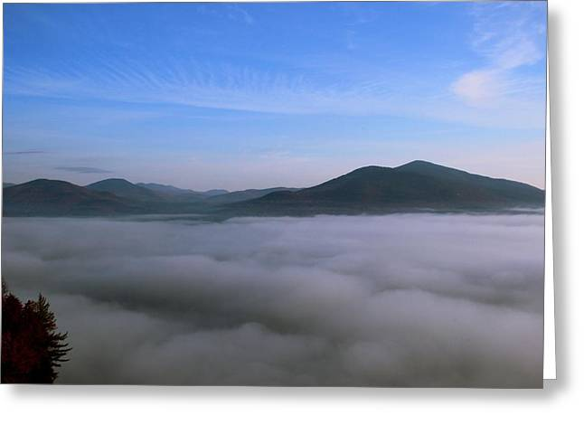 Cathedral Rock Greeting Cards - Sea of Clouds Greeting Card by Andrea Galiffi