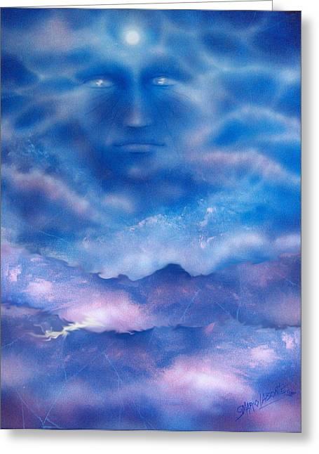 Sea Of Dreams Greeting Card by Mario Labonte