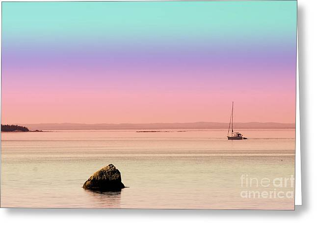 Aimelle Photography Greeting Cards - Sea of Tranquility Greeting Card by Aimelle