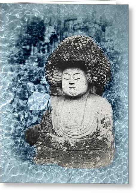 Sea Of Tranquility Greeting Cards - Sea of Tranquility Greeting Card by Bill Cannon