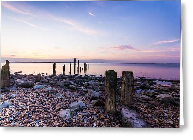 Estuary Greeting Cards - Sea of tranquility Greeting Card by Ian Hufton