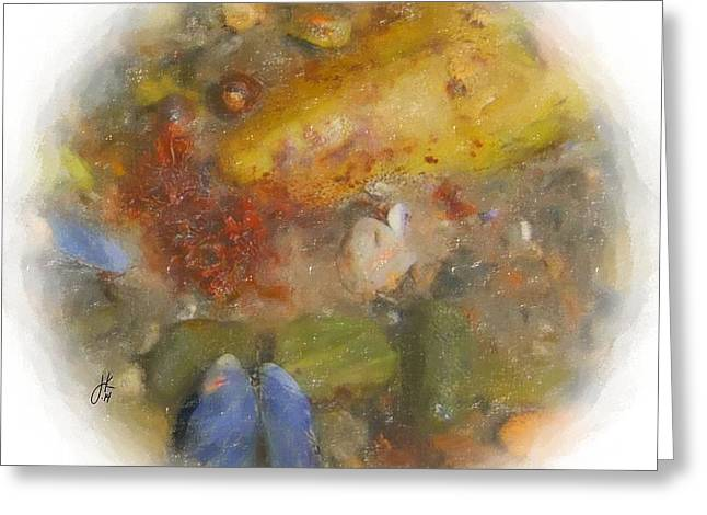 Maine Shore Greeting Cards - Sea Salad 920 20140829 Greeting Card by Julie Knapp