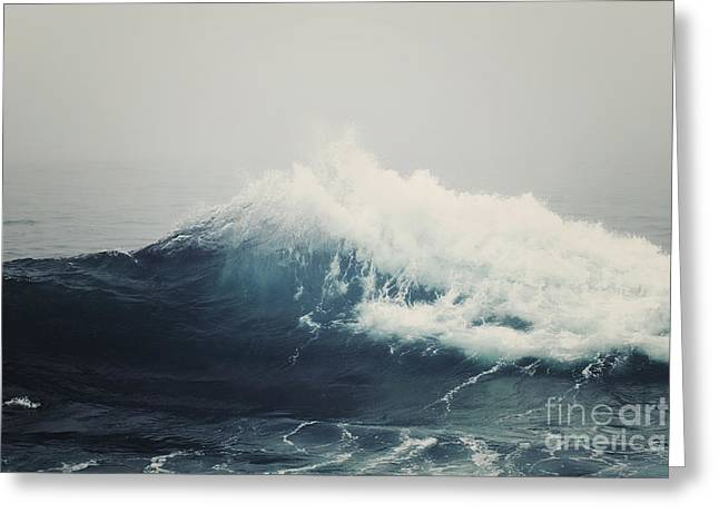 Beach Photography Greeting Cards - Sea Storm  Greeting Card by Bree Madden