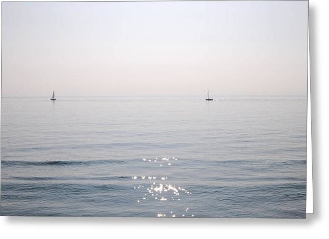 Seen Greeting Cards - Sea Vision Greeting Card by Gina Dsgn