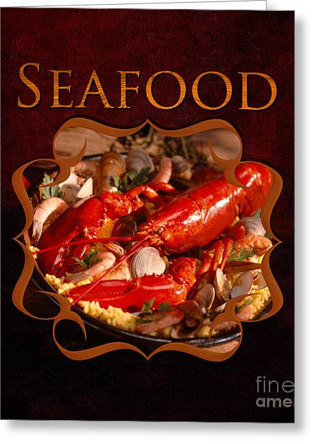 Lox Greeting Cards - Seafood Gallery Greeting Card by Iris Richardson