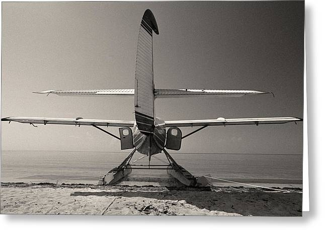 Dry Tortugas Greeting Cards - Seaplane - Dry Tortugas National Park - Florida Keys Greeting Card by Andy Moine