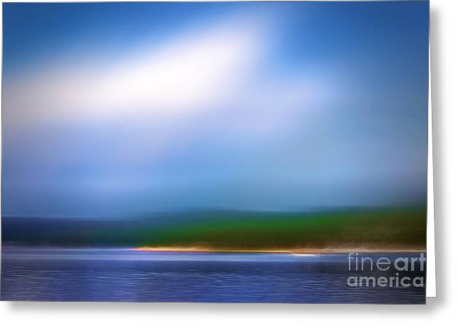 Imagination Greeting Cards - Seascape Imagination Greeting Card by Lutz Baar